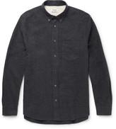Acne Studios Isherwood Button-Down Collar Cotton-Flannel Shirt
