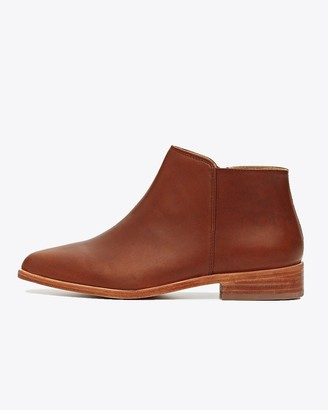 Nisolo Lana Ankle Boot Brandy