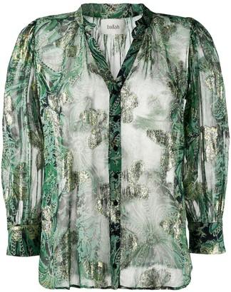 BA&SH Quincy floral print shirt