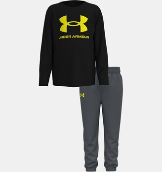 Under Armour Boys' Toddler UA Core Logo Set