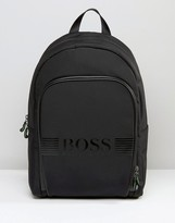BOSS GREEN By Hugo Boss Logo Pixel Backpack
