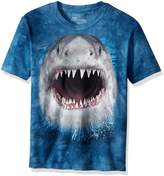 The Mountain Cotton Wicked Nasty Shark Design Novelty Youth T-Shirt (, L)