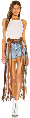 On Understated Leather X REVOLVE The Road Again Fringe Belt