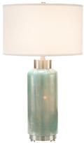 John-Richard Collection Sky Cotton & Silk Table Lamp