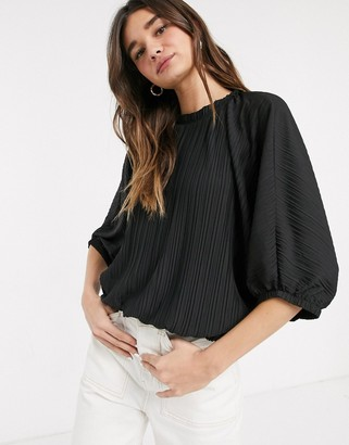 InWear Enna blouse in black