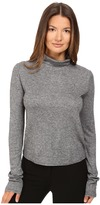 See by Chloe Jersey Turtleneck with Sheer Back Women's Clothing