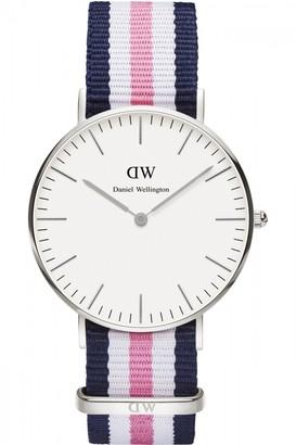 Daniel Wellington Ladies Southampton Silver 36mm Watch DW00100050
