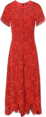 Proenza Schouler Scalloped Lace Midi Dress