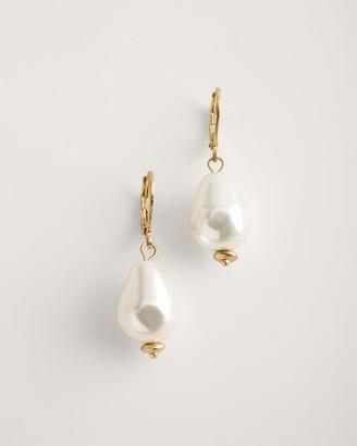 Chico's Faux-Pearl Drop Earrings