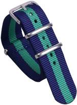 AUTULET Luxury Fashionable Men's One-piece NATO style Nylon Watch Bands Straps