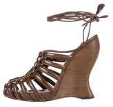 Bottega Veneta Cage Wedge Sandals