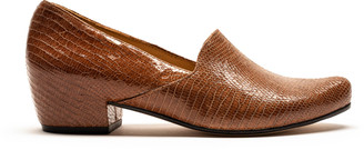 Tracey Neuls - RAY Havana | Faux Snakeskin Loafer - 37