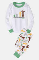 Hanna Andersson Two Piece Fitted Pajamas (Toddler)