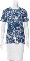 Tory Burch Printed Short Sleeve T-Shirt