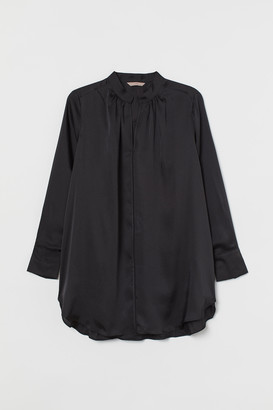 H&M H&M+ Long Satin Blouse