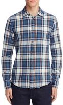 Scotch & Soda Plaid Slim Fit Button Down Shirt