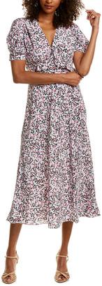 Diane von Furstenberg Sloane Silk Midi Dress