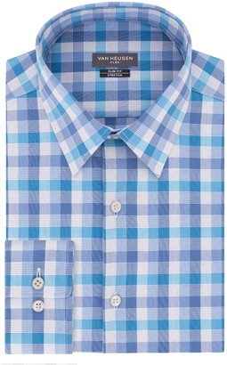 Van Heusen Men's Slim-Fit Flex Collar Stretch Dress Shirt