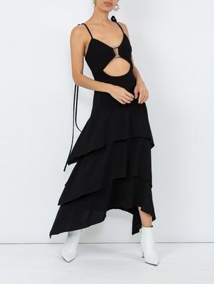 Proenza Schouler Layered Midi Dress Black