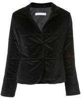 Fabiana Filippi quilted velvet jacket