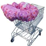 Floppy Seat® Shopping Cart Cover in Light Pink