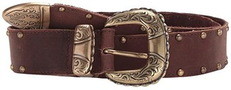 Leather Rock Perry Belt (Walnut) Women's Belts