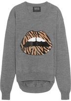 Markus Lupfer Lara Sequin-embellished Wool Sweater - x small