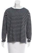 Closed Striped Knit Sweater w/ Tags