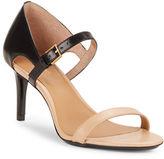 Calvin Klein Luigina Colorblocked Leather Stiletto Sandals