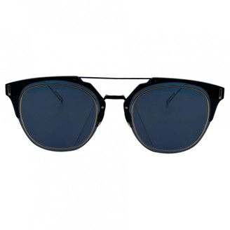Christian Dior Composit 1.0 Blue Metal Sunglasses