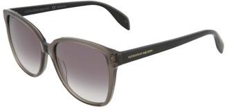 Alexander McQueen Women's Am0145s 56Mm Sunglasses