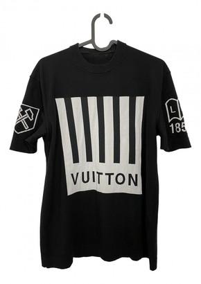 Louis Vuitton Black Cotton T-shirts