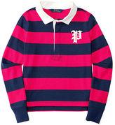 Ralph Lauren Striped Cotton Rugby Shirt