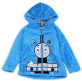 Thomas & Friends THOMAS Boys Toddler Velboa Zip Front Hoodie SweatShirt/Jacket