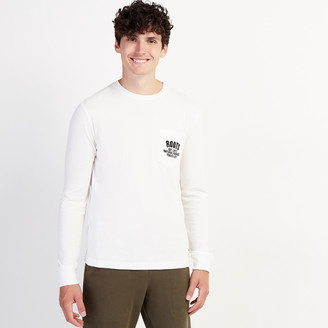 Roots Mens Heritage Travellers Long Sleeve T-shirt
