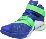 Nike Lebron Soldier IX Men US 10 Black Basketball Shoe