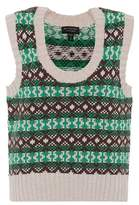 Burberry Fair Isle cashmere and wool sweater vest