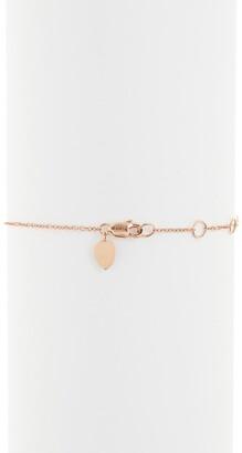 Meira T 14K Rose Gold Blue Sapphire & Pave Diamond Charm Bracelet