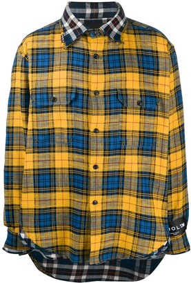 COOL T.M Check Button-Up Shirt