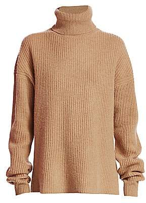 The Kooples Women's Ribbed Wool & Cashmere Turtleneck Sweater
