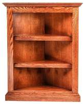 Forest Designs Traditional Corner Bookcase: 20 X 20 from Corner 60H