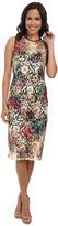 Nicole Miller Lace Fantasia Net Sleeveless Dress