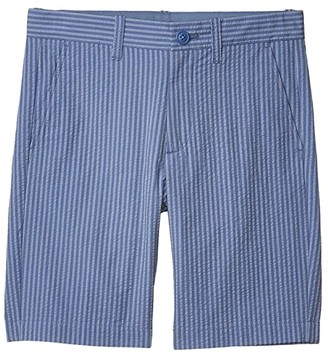 crewcuts by J.Crew Stanton Shorts In Seersucker (Toddler/Little Kids/Big Kids) (Twilight Blue) Boy's Shorts