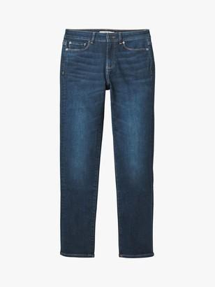 White Stuff Straight Jeans, Dark Denim