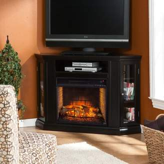 """Alcott Hill Contreras Convertible Corner TV Stand for TVs up to 47"""" with Electric Fireplace Alcott Hill"""
