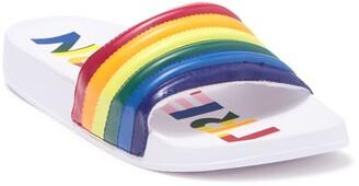 Tretorn Sofia Rainbow Slide Sandal