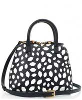 Lulu Guinness Bobbi All Over Scattered Lips Tote Bag