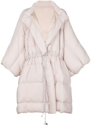 Cynthia Rowley Cindy oversized padded coat