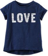 Carter's Graphic Love T-Shirt, Little Girls (2-6X)