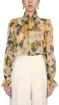 Dolce & Gabbana Silk Chiffon Shirt